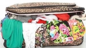 chaotische koffer